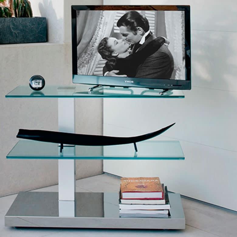 Mesa cattelan italia azimut decoramos es for Muebles para televisiones planas